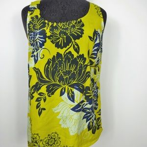 CAbi Tank Top Silk Floral